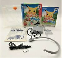 Hey You, Pikachu! Big Box Game Nintendo for N64 NTSC-J Japanese BOXED