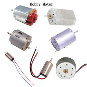 DC 3V 12V Hobby Motor130/610/614/180/716/720 Micro Gear Motor for Robotic Toy UK