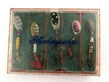 VTG Shakespeare Fishing Spinners & Case Jet Dorado lures bait tackle - 5 Total