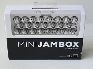 MINI JAMBOX - Silver Dot... Wireless Speaker & Speakerphone... NEW!