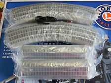 NEW LIONEL O/027 GAUGE FASTRACK OVAL SET 40X60 8 CURVE 036, 4 STRAIGHT Free Ship