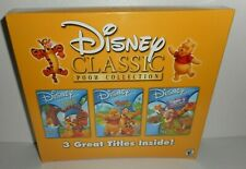Disney Classic Pooh Collection Junior Games CD ROM New 3 Great Title Windows Mac