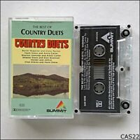 The Best Of Country Duets Tape Cassette (C22)