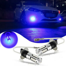 2pcs Ultra Blue 30-SMD-4014 LED Bulbs For Car Fog Lamps DRL Daytime Lights
