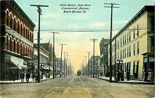 A View of 92nd Street, Looking East From Commercial Avenue, South Chicago IL