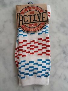 Active World Famous men signals  Sock - Mens One Size / One Pair off white