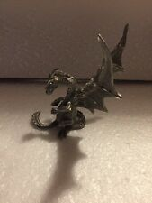 "Rawcliffe ""Proud Parent"" Pewter Dragon Figurine 1992 Rf1733"