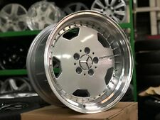 New 17 inch Staggered OZ Aero Classic Design Wheel (Set of 4) Mercedes Silver
