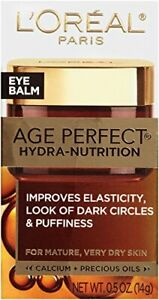 L'Oreal Paris Age Perfect Hydra Nutrition Golden Balm Eye Cream 0.5 OZ