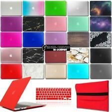 For MacBook Air/pro/Retina - Rubberized Case Cover+Keyboard Cover+Sleeve Bag