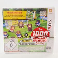 Nintendo 3DS - Pocket Football Club - Downloadcode - Auch 2 DS kompatibel - NEU