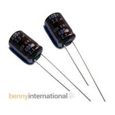 5x 2.2uF 400V 105°C ELECTROLYTIC CAPACITORS Radial KME Nippon Chemicon