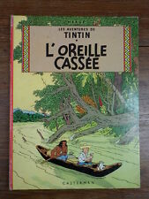 ALBUM HERGE TINTIN L'OREILLE CASSEE PLAT B35 1964 Bon Etat