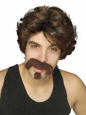Big John Wig & Facial Hair Adult Set
