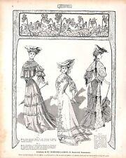 PARIS MODE FASHION CREATIONS DE MME MARGAINE-LACROIX ADP 1904