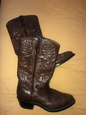 Red Wing Boots UK 8 Pecos Brown Leather Excellent Condition