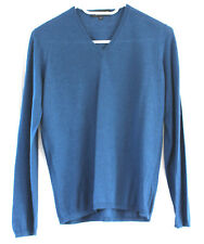Teal cashmere sweater - damaged - Size Italy 42 (UK 10)
