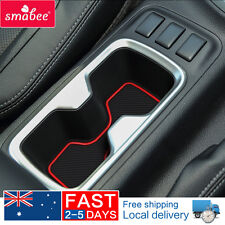 For Nissan Navara NP300 D23 2015-2017 Gate slot pad  Door Pad/Cup mats 20pcs