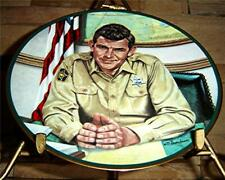 Sheriff Andy Taylor from The Andy Griffith Show Plate Collection, Coa
