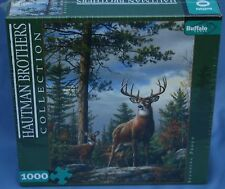 Buffalo Games Hautman 1000Pc Puzzle Standing Proud Sealed Deer New Jigsaw Animal