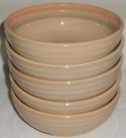 Set (5) Noritake Stoneware SUNSET MESA PATTERN Soup/Cereal Bowls MADE IN JAPAN