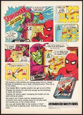SPIDER-MAN__Original 1982 print AD / game promo__Parker Brothers__Atari 2600