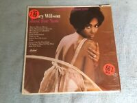 NANCY WILSON: Just For Now LP, Capitol ST 2712, 1967 EX Excellent in Shrink