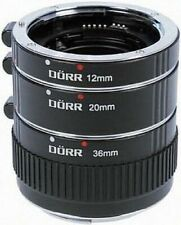 Dörr Zwischenringsatz Canon EOS 323022 12,20,36
