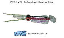 ARTIFICIALE TRAINA  EMULATORE SUPER SQUID CALAMARO  BLU 90 GR 5700013