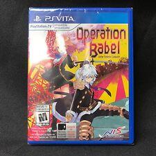 Operation Babel: New Tokyo Legacy (PlayStation Vita, 2017) NEW / Region Free