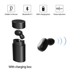Bluetooth Mini Headphone Wireless Earphone Earbud for Apple iPhone Samsung LG