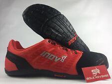 New! Inov-8 Bare-XF 210 V2 Black/Red Cross Training Shoes 000642BK Athletic 6p1