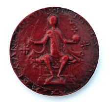 King Henry I Great Wax Seal England Red Medieval Reproduction Collectable Gift