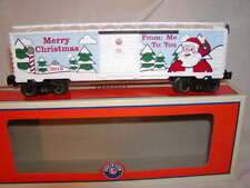 Lionel 6-84747 Merry Christmas Holiday From Me to You 2018 Box Car O 027 New MIB