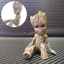 Mini Marvel Figure Sitting Posture Model Anime Doll Decoration PVC Collection