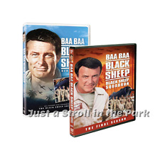 Baa Baa Black Sheep Squadron Complete TV Series Seasons 1 & 2 Box/DVD Set(s) NEW