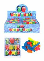 100 Water Bombs Balloons 5 x 20 Kids Outdoor Toys Garden Game Party Bag Fillers