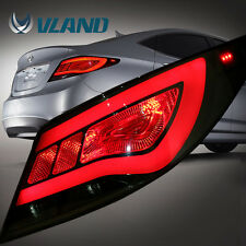 Tail Light For Hyundai Accent 2012-2017 LED Rear Assembly Smoked Taillights
