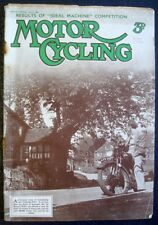MOTOR CYCLING MAGAZINE 17 JUL 1935 - NEW IMPERIAL'S HISTORY, ZENITH, ARIEL, BSA