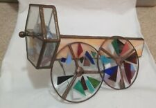 VINTAGE KALEIDOSCOPE COPPER AND GLASS