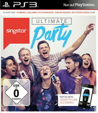SingStar: Ultimate Party (Sony PlayStation 3, 2014, DVD-Box) Top