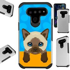 Fusion Case for Lg V50 / G8 ThinQ / K40 Hybrid Phone Cover P16
