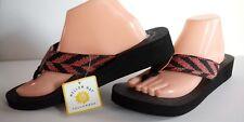 $35 New Yellow Box Emmett Orange 11 Comfort Real Yoga Mat women Thong Sandals