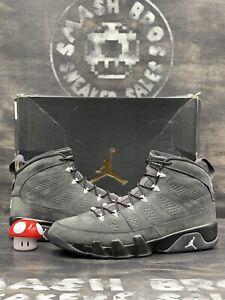 Nike Air Jordan 9 Retro IX Size 13 Anthracite White Black Grey OG 302370-013