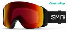 Snowboardbrille SMITH 4D MAG Black Red