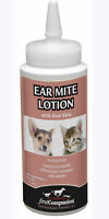 Ear Mite Medicine Lotion Aloe Dog Cat 6oz All Natural Insecticide Free