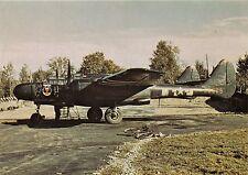 NORTHROP P-61 BLACK WIDOW~TABITHA #25569 FIGHTER~IX AIR FORCE AIRCRAFT POSTCARD