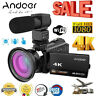 4K WiFi 1080P HD 48MP 16X ZOOM Digital Video Camera Camcorder DV Night Vision US