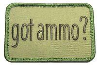 GOT AMMO GUN RIGHTS SECOND 2ND AMENDMENT TACTICAL MULTICAM VELCRO MORALE PATCH