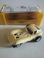 Vintage Lt Yellow Aurora Cheetah HO Slot Car - Box - Excellent - See Description